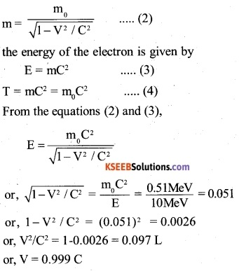 2nd PUC Physics Question Bank Chapter 11 Dual Nature of Radiation and Matter 22