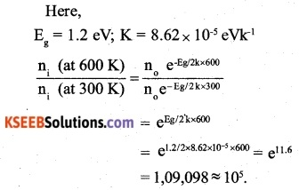 2nd PUC Physics Question Bank Chapter 14 Semiconductor Electronics Materials, Devices and Simple Circuits 5