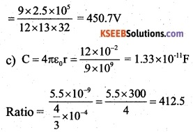 2nd PUC Physics Question Bank Chapter 2 Electrostatic Potential and Capacitance 44