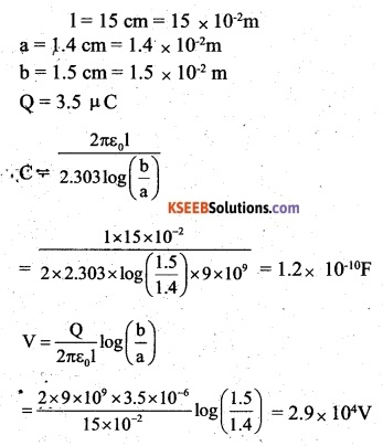 2nd PUC Physics Question Bank Chapter 2 Electrostatic Potential and Capacitance 45