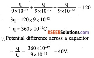 2nd PUC Physics Question Bank Chapter 2 Electrostatic Potential and Capacitance 9