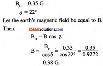 2nd PUC Physics Question Bank Chapter 5 Magnetism and Matter 4