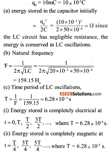 2nd PUC Physics Question Bank Chapter 7 Alternating Current 14