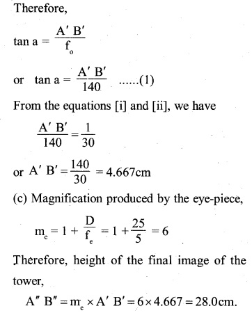 2nd PUC Physics Question Bank Chapter 9 Ray Optics and Optical Instruments 8