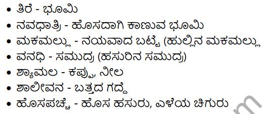 Hasuru Summary in Kannada 3