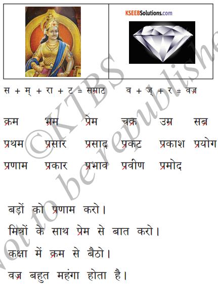 KSEEB Solutions for Class 6 Hindi Chapter 5 'र' की मात्राएँ रेफपदेन 7
