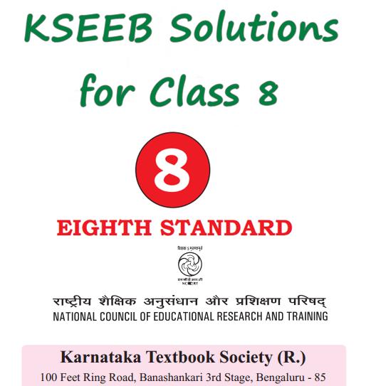 KSEEB Solutions for Class 8 Karnataka State Syllabus