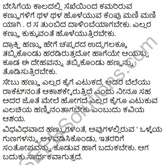 Magu Mattu Hannugalu Summary in Kannada 5