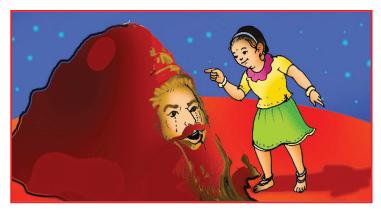 Mangala Grahadalli Putti Summary in Kannada 7