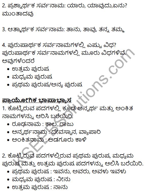 Siri Kannada Text Book Class 8 Solutions Gadya Chapter 5 Huvada Hudugi 11