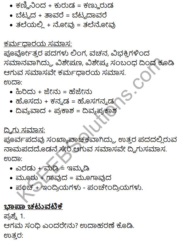 Siri Kannada Text Book Class 9 Solutions Gadya Chapter 1 Kannada Moulvi 10