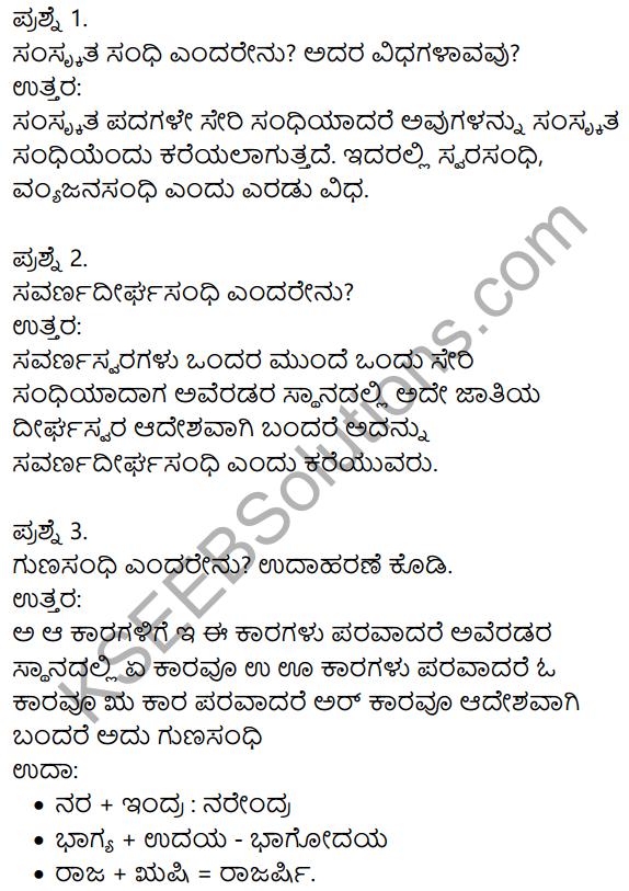 Siri Kannada Text Book Class 9 Solutions Gadya Chapter 2 Bedagina Tana Jayapura 12