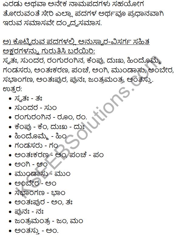 Siri Kannada Text Book Class 9 Solutions Gadya Chapter 2 Bedagina Tana Jayapura 14