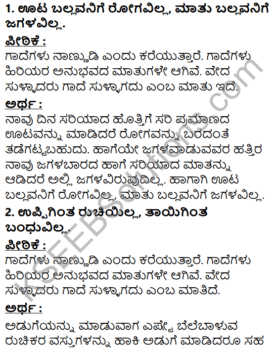Tili Kannada Text Book Class 5 Puraka Odu Gadhe Mathugalu 1