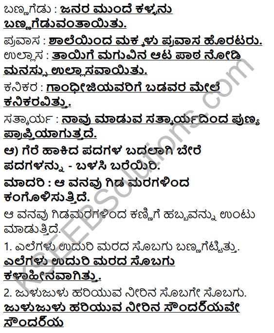 Tili Kannada Text Book Class 6 Solutions Gadya Chapter 2 Kugutide Pakshi 7
