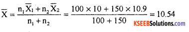 1st PUC Statistics Previous Year Question Paper March 2019 (North) - 3