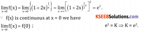 2nd PUC Basic Maths Question Bank Chapter 17 Limit and Continuity of a Function Ex 17.5 - 12