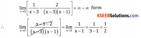 2nd PUC Basic Maths Question Bank Chapter 17 Limit and Continuity of a Function Ex 17.5 - 22