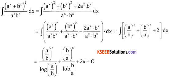 2nd PUC Basic Maths Question Bank Chapter 20 Indefinite Integrals Ex 20.1 - 5