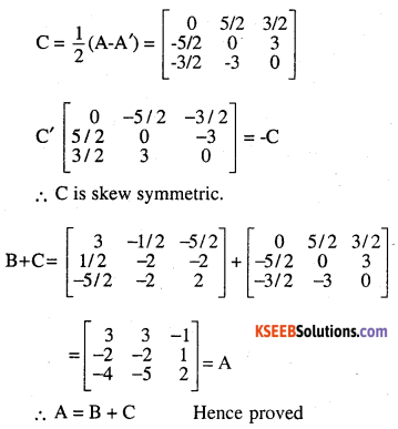 2nd PUC Maths Question Bank Chapter 3 Matrices Ex 3.3 16