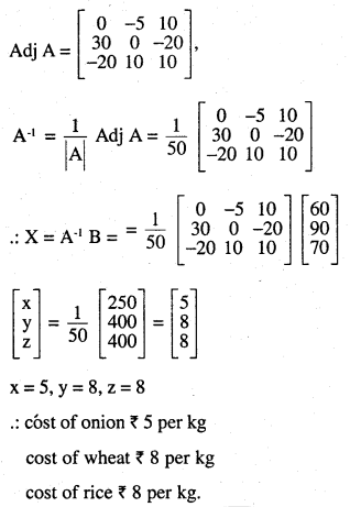 2nd PUC Maths Question Bank Chapter 4 Determinants Ex 4.6.26