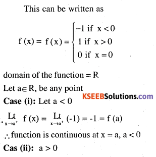 2nd PUC Maths Question Bank Chapter 5 Continuity and Differentiability Ex 5.1.11