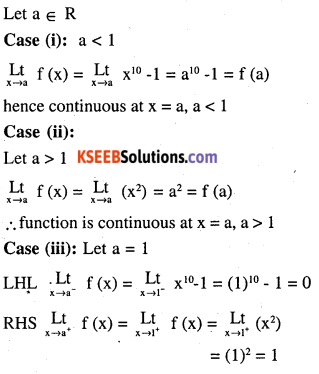 2nd PUC Maths Question Bank Chapter 5 Continuity and Differentiability Ex 5.1.16
