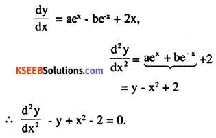 2nd PUC Maths Question Bank Chapter 9 Differential Equations Miscellaneous Exercise 1