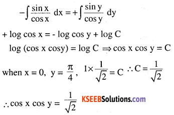 2nd PUC Maths Question Bank Chapter 9 Differential Equations Miscellaneous Exercise 11