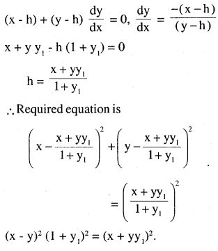 2nd PUC Maths Question Bank Chapter 9 Differential Equations Miscellaneous Exercise 7