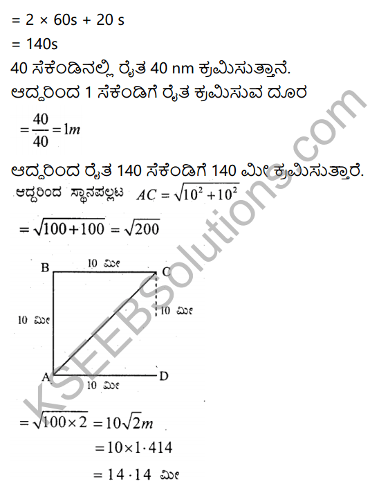 KSEEB Solutions for Class 9 Science Chapter 8 Chalane 2