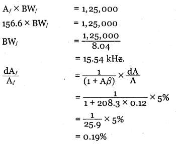 2nd PUC Electronics Question Bank Chapter 4 Feedback in Amplifiers 22