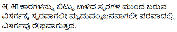 KSEEB Solutions for Class 10 Sanskrit नंदिनी Chapter 3 विसर्गसन्धिः 4