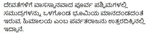 KSEEB Solutions for Class 10 Sanskrit पूरकपाठाः Chapter 3 नगाधिराजः 3