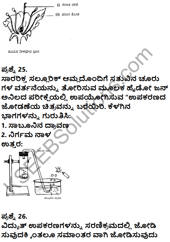 Karnataka SSLC Science Previous Year Question Paper March 2019 in kannada - 12
