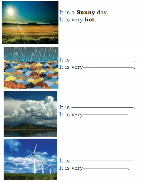 KSEEB Solutions for Class 4 English Chapter 3 Environment 5