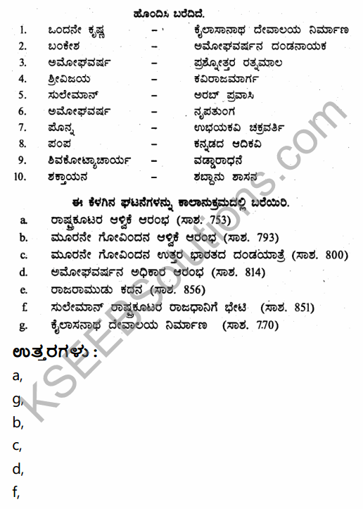 2nd PUC History Question Bank Chapter 4 Ancient Period in Kannada 123
