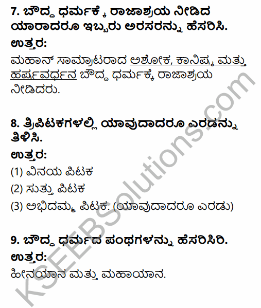 2nd PUC History Question Bank Chapter 4 Ancient Period in Kannada 20