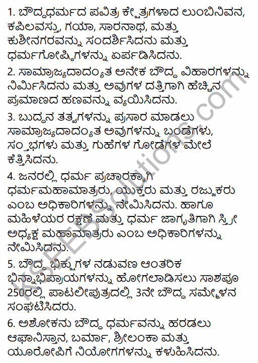 2nd PUC History Question Bank Chapter 4 Ancient Period in Kannada 45