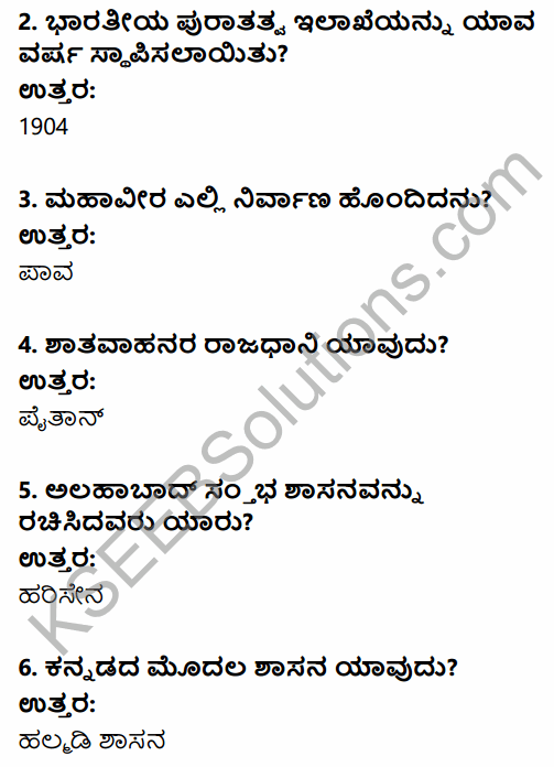 2nd PUC History Previous Year Question Paper March 2015 in Kannada 2