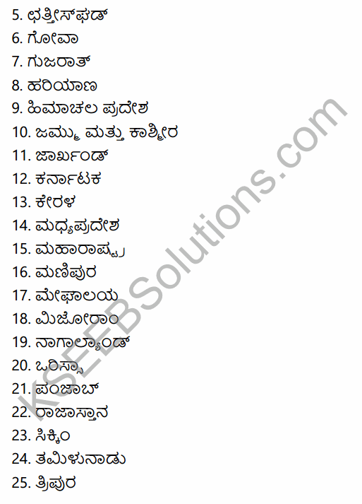 2nd PUC Political Science Previous Year Question Paper March 2015 in Kannada 51