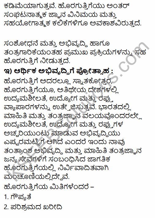 1st PUC Business Studies Question Bank Chapter 5 Emerging Modes of Business in Kannada 23