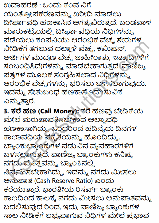 2nd PUC Business Studies Question Bank Chapter 10 Financial Market in Kannada 21