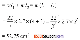 KSEEB Solutions for Class 10 Maths Chapter 15 Surface Areas and Volumes Ex 15.5 5