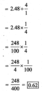 KSEEB Solutions for Class 7 Maths Chapter 2 Fractions and Decimals Ex 2.7 3