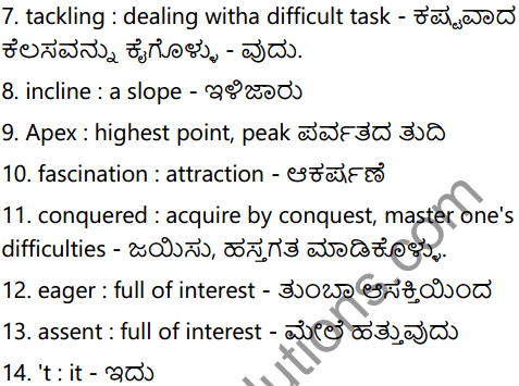 Mountain Climbing Summary In Kannada 3