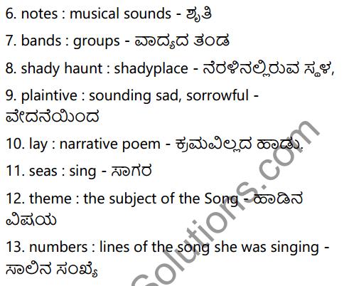 The Solitary Reaper Summary in Kannada 3