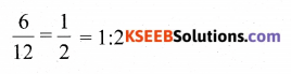 KSEEB Solutions for Class 6 Maths Chapter 12 Ratio and Proportion Ex 12.1 352