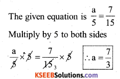 KSEEB Solutions for Class 7 Maths Chapter 4 Simple Equations Ex 4.2 20
