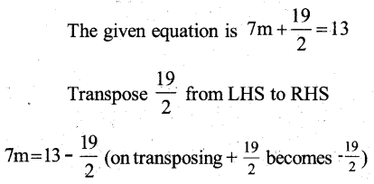 KSEEB Solutions for Class 7 Maths Chapter 4 Simple Equations Ex 4.3 22
